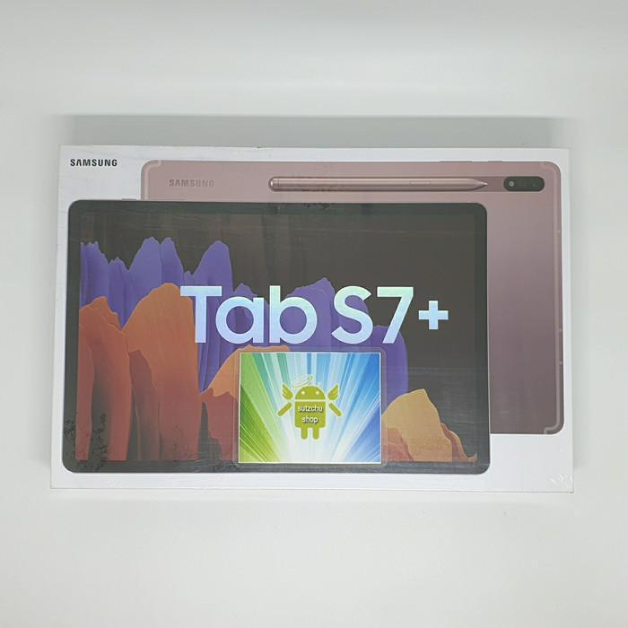 tablet mantap coy.... samsung galaxy tab s7+ tab s7 plus 8/256 garansi SEIN - Hitam
