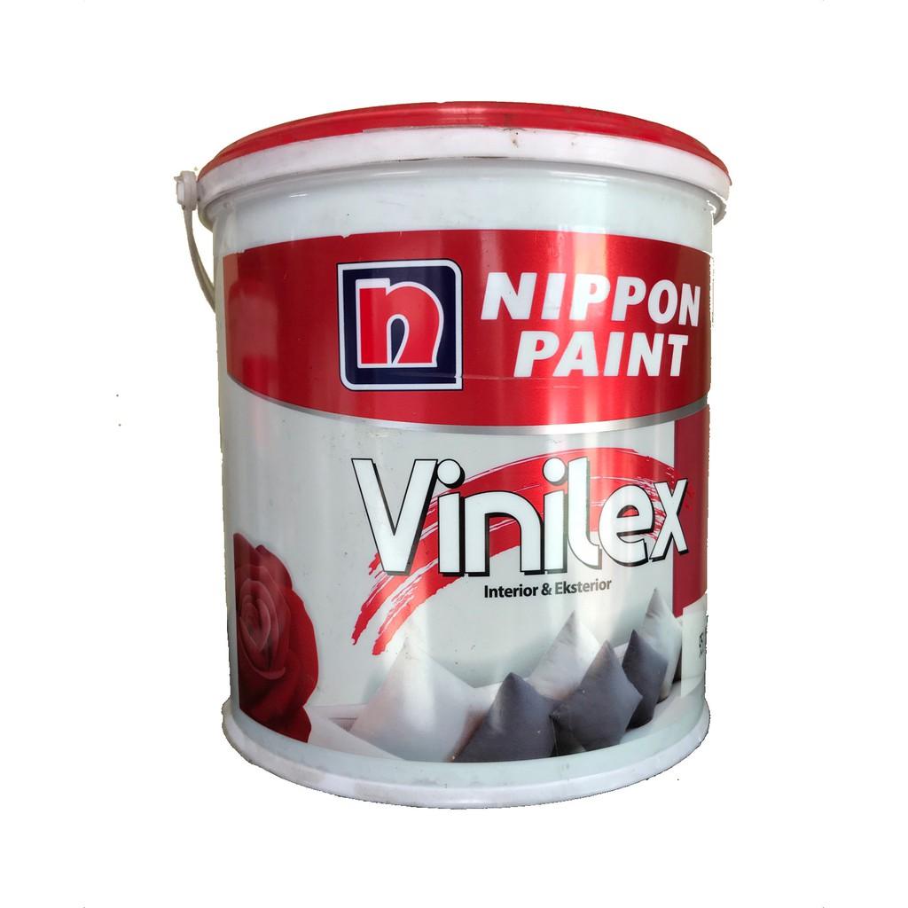 Cat Tembok Interior dan Eksterior Nippon Vinilex 5000  5kg Plus Paking Kayu