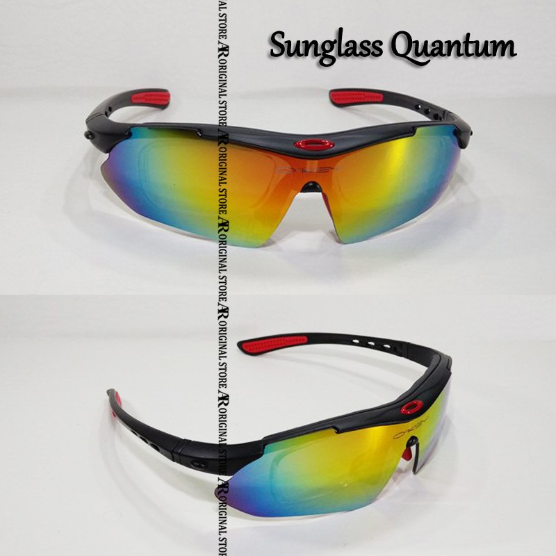 Kacamata Oa-kLey Minus Plus Sepeda MTB Gowes Frame Quantum Safety Motor  Touring Sunglass 6 Lensa 03  50af738d60