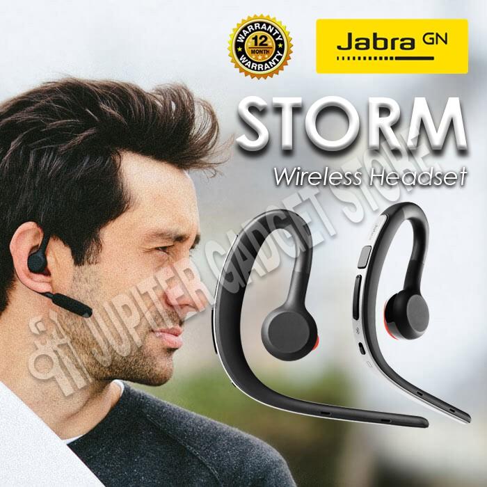 Jabra Storm Headset Bluetooth - Original Garans Resmi