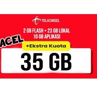 9.9 Brands Festival KARTU PERDANA TELKOMSEL 35GB TELKOMSEL 35 GB