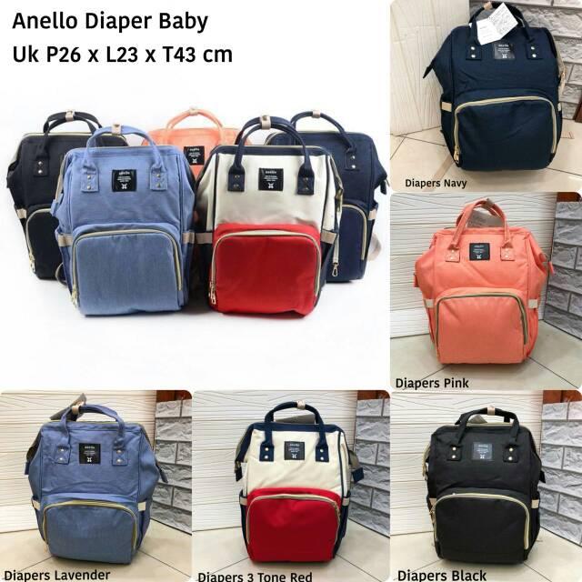 be7194242b7af6 Gucci GG Kanvas Baby Diaper Bag F2314. SV SC1 | Shopee Indonesia