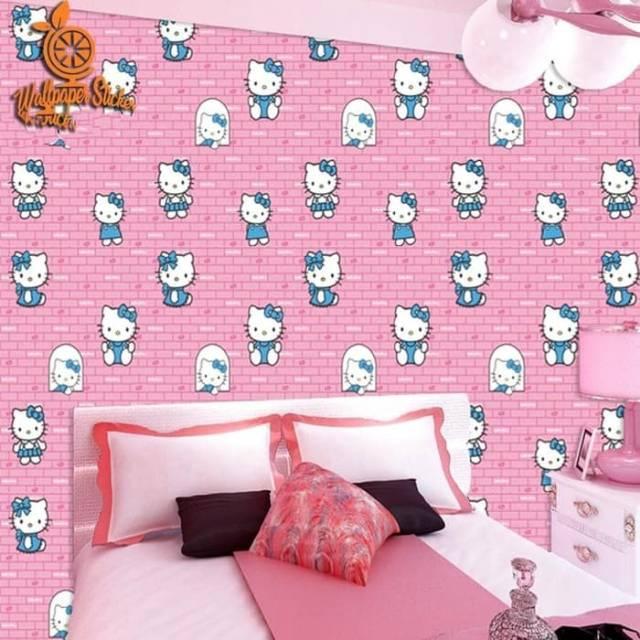 Grosir Wallpaper Dinding Pvc Wallsticker Dinding Kamar Anak