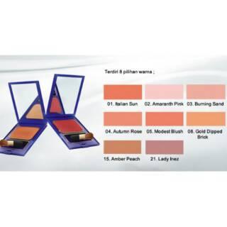 Inez Color Contour Plus Blusher with Brush thumbnail