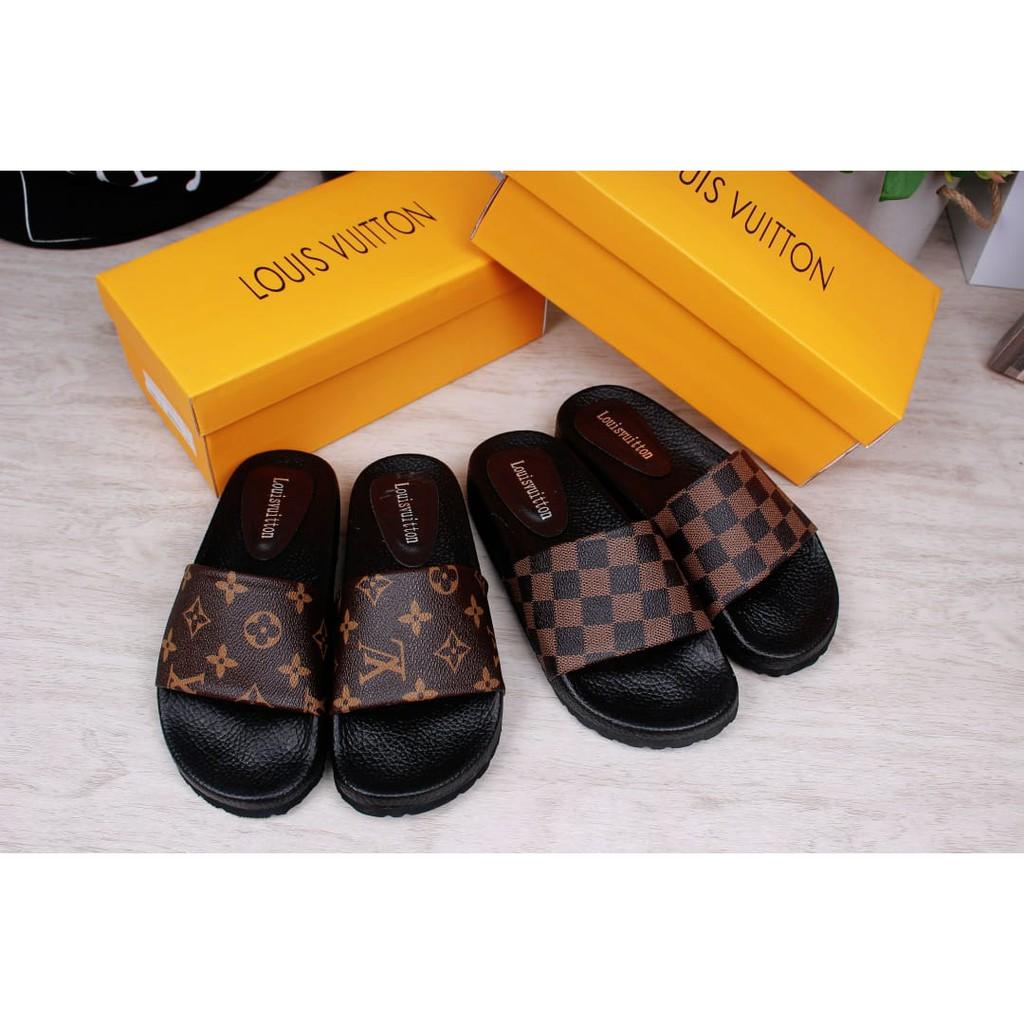 cf20cd4dc298 50650 Louis Vuitton Waterfront Mule Women Slippers Sandal import wanita  cewek perempuan batam