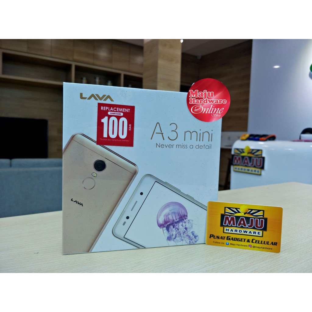 Lava A3 Mini 2gb 16gb 4g Lte Resmi Shopee Indonesia Grey 3 32gb Garansi
