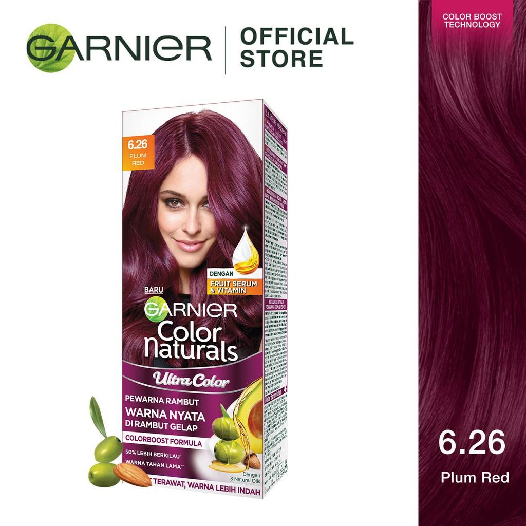Garnier Ultra Color Pewarna Rambut 6 26 Plum Red