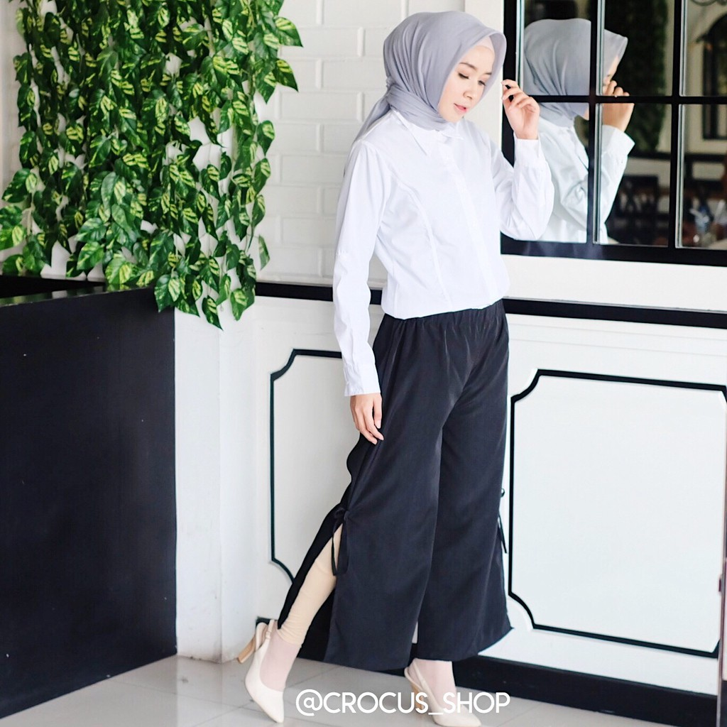 Celana Kulot Milano Crep Panjang Shopee Indonesia Millano