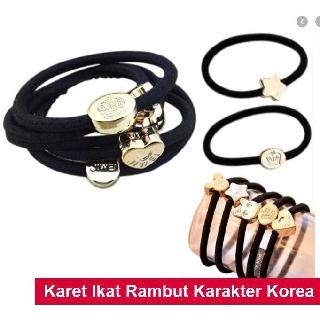 MKL Ikat Rambut Karet Gelang Body Jewerly Fashion Wanita Kuncir Rambut Aksesoris Rambut R128 4