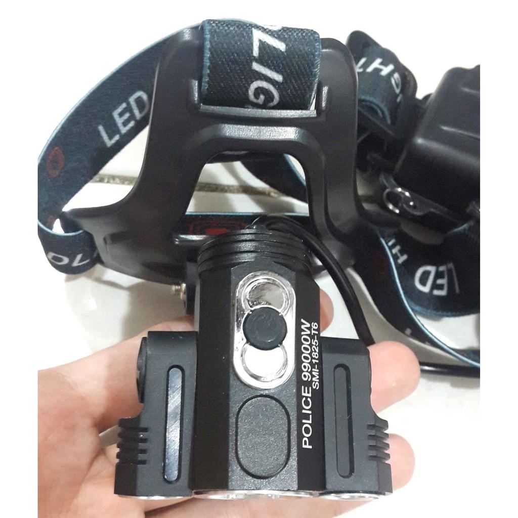 Senter Kepala Headlamp T6 3 Lensa Mitsuyama Ms 142 Shopee Indonesia Model Mata Kucing