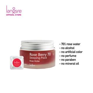 Langsre Rose Berry 70 Sleeping Pack Sample 2ml 3