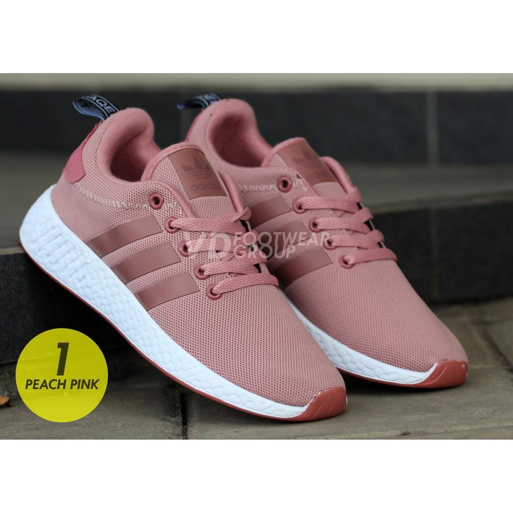 253dadc7d748 Sepatu Adidas Nmd Wanita Sepatu Perempuan Import Made In Vietnam With Box |  Shopee Indonesia
