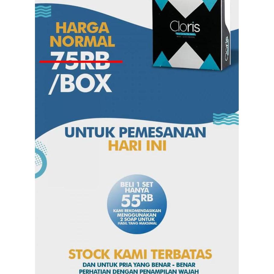 Jakarta Original Cloris Sabun Muka Pria Men Soap Asli Wajah Anti Acne Jerawat Minyak Flek Kusam Shopee Indonesia