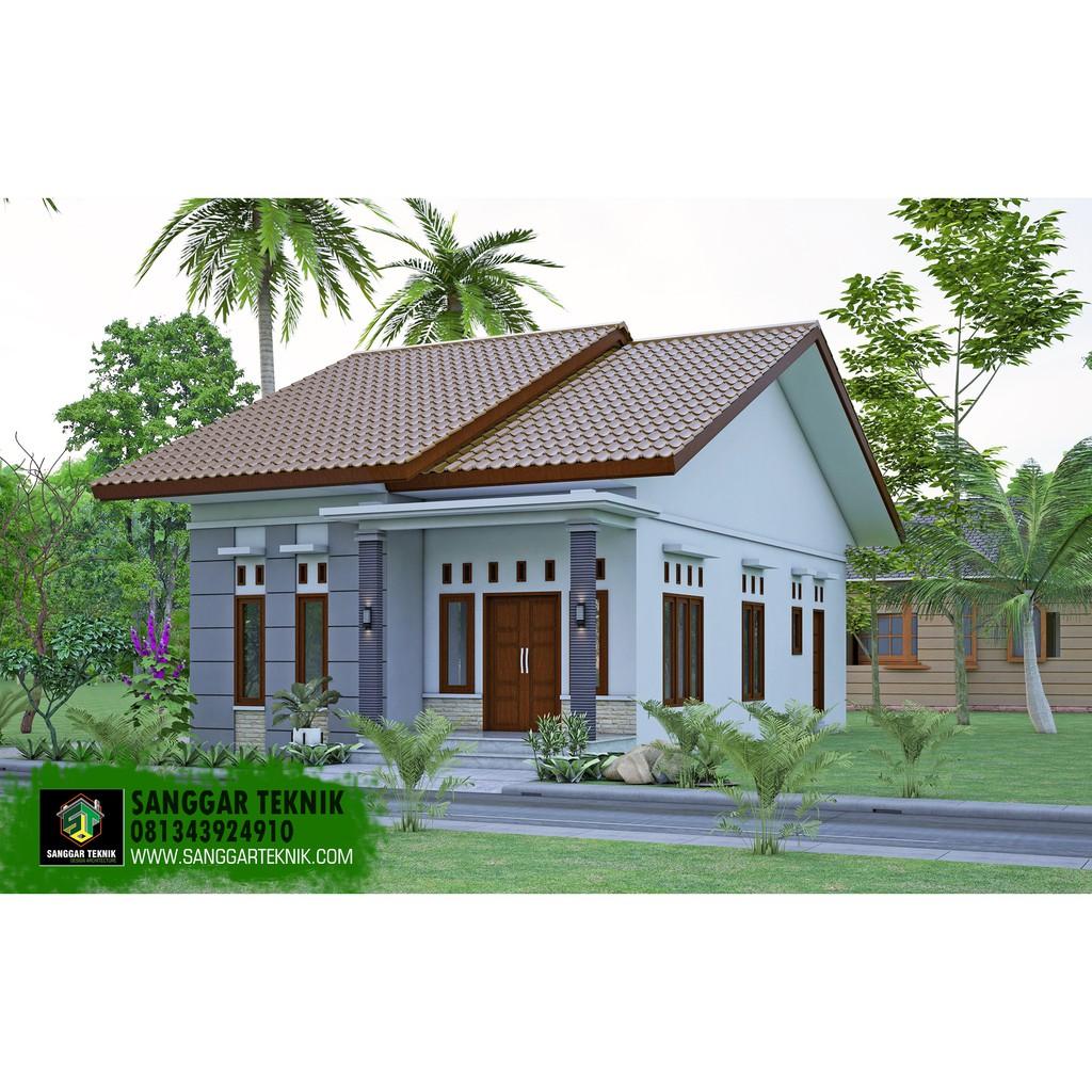 Desain Rumah Sederhana Minimalis 7x12 Shopee Indonesia
