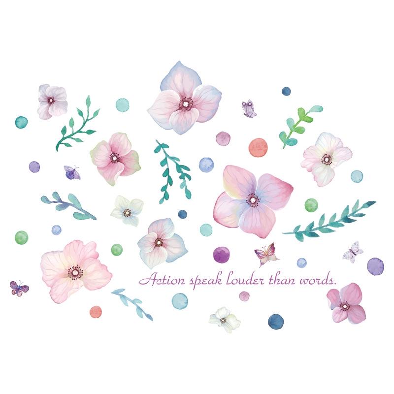 Stiker Dekorasi Ruang Bunga Kupu Kupu Shopee Indonesia