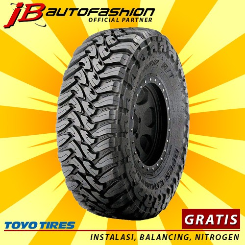 Open Country Tires >> Toyo Tires Open Country Mt 275 70 R18 Ban Mobil Gratis Instalasi