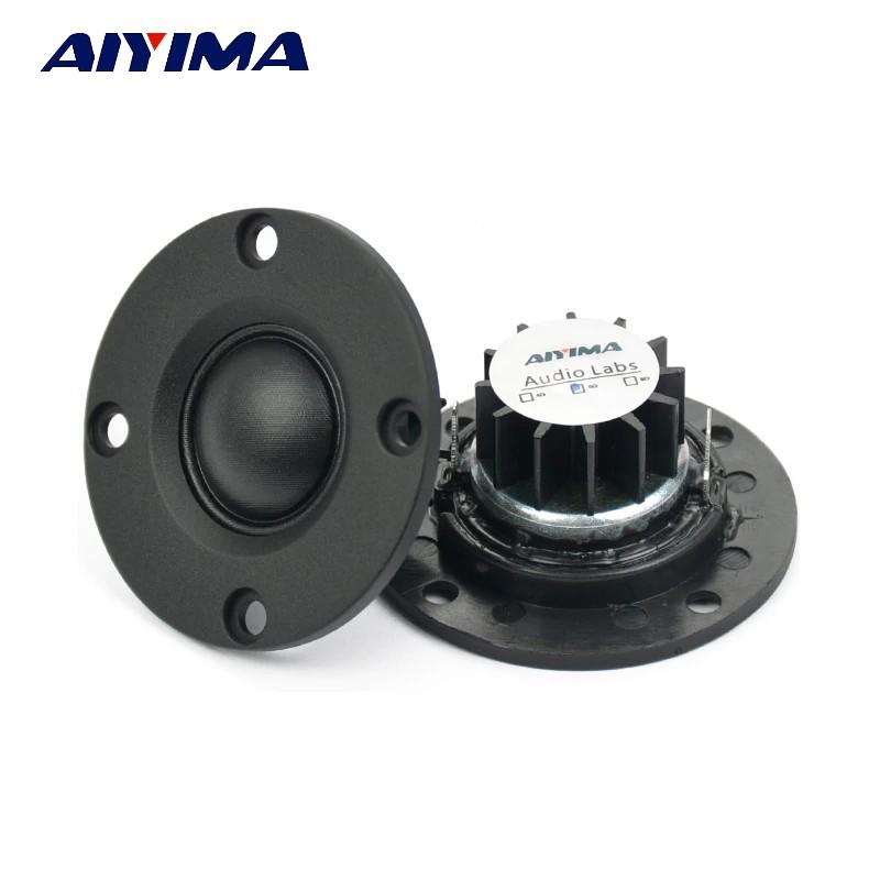 2pcs 40mm Silk Film Tweeter 4R Ohm 30W Loudspeaker For Home /& Car Audio speaker