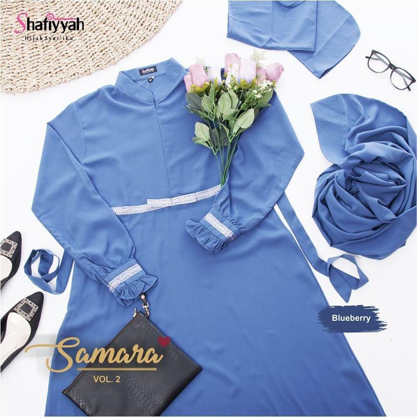 Baju Warna Blueberry