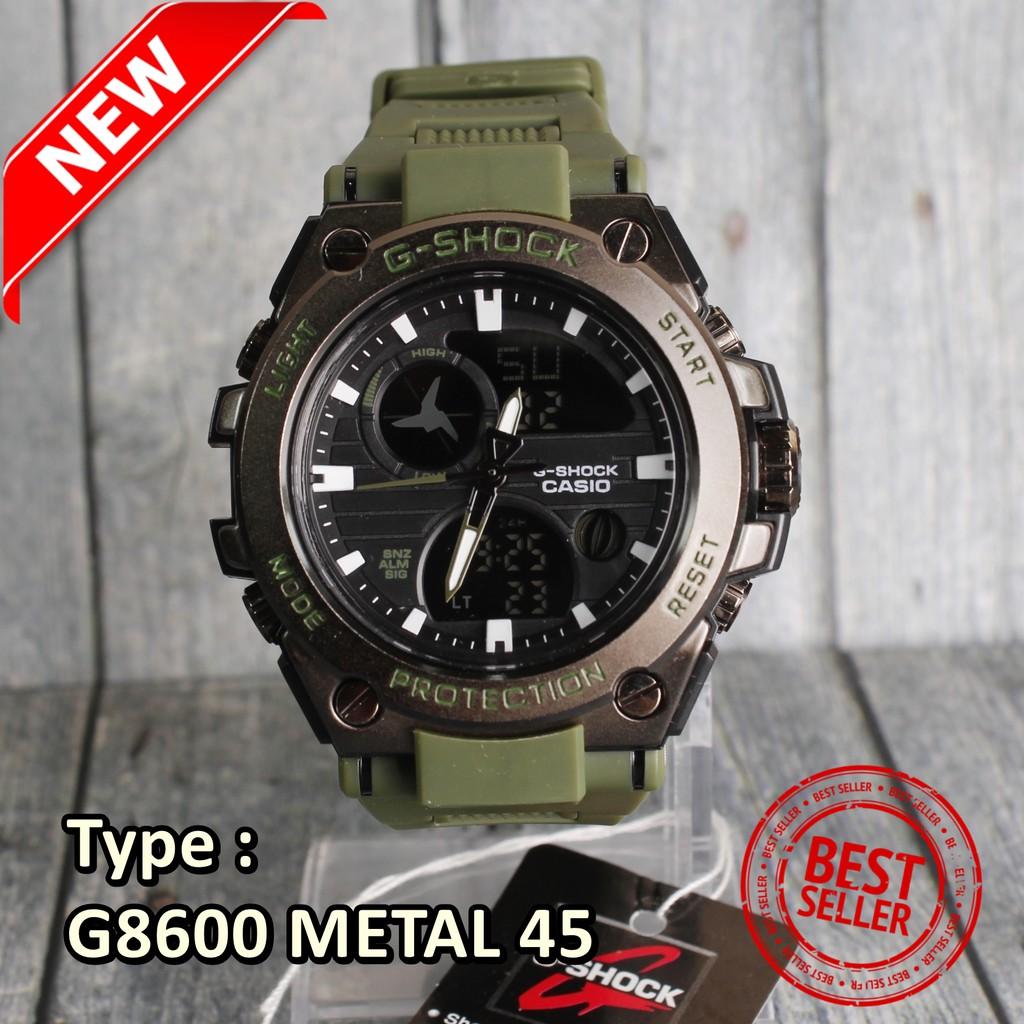 Limited Edition G Shock Casio Gwg1000 Loreng Army Military Jam Tangan Sport Hitam Hijau Mudmaster Pria Murah Shopee Indonesia