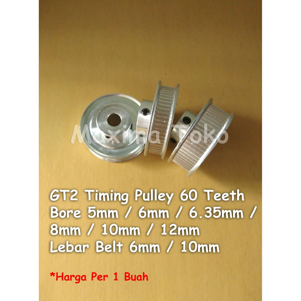2GT 32 Tooth 32T 5mm Bore Aluminum Timing Pulley