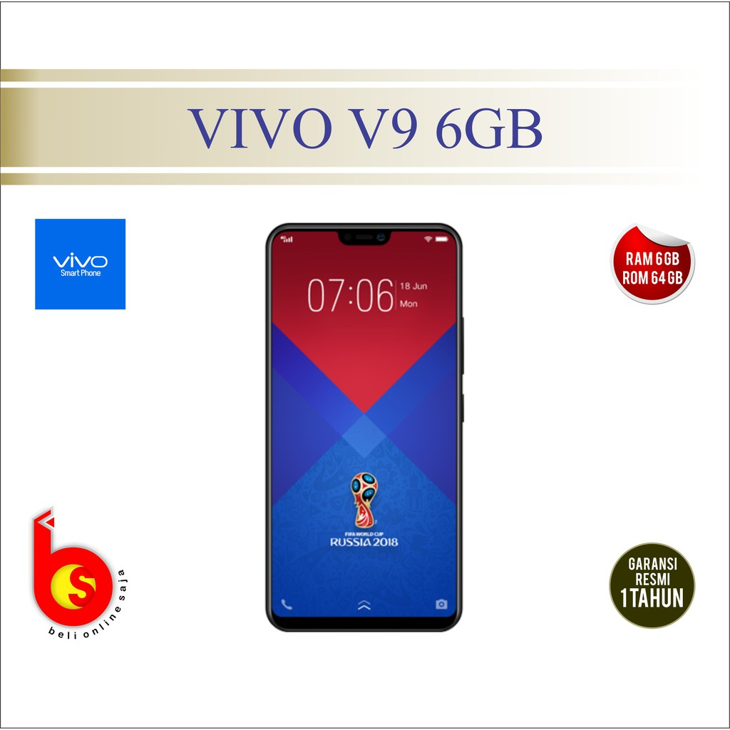 Vivo V5 Plus Garansi Resmi Shopee Indonesia 64 Gb Edition 1 Tahun