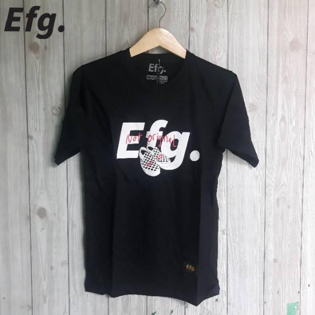 Kaos Distro Efg Bm Ori Shopee Indonesia