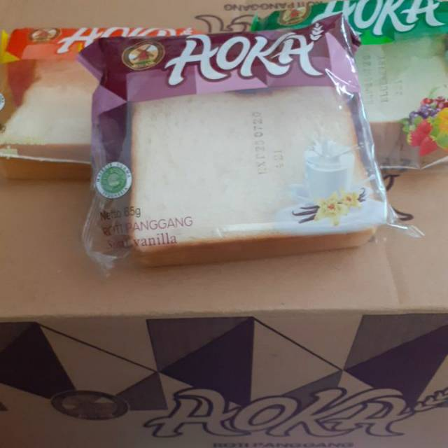 Roti Aoka Karton isi 60 pcs