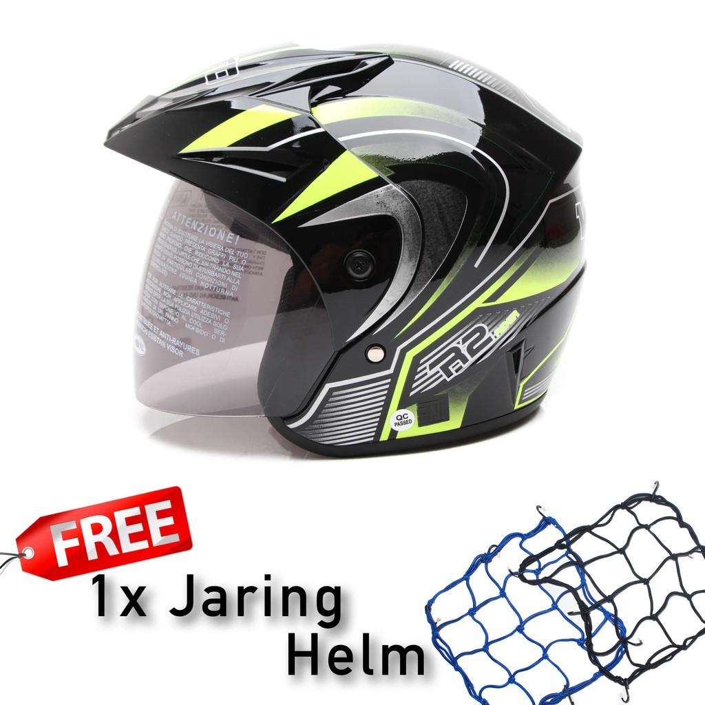 Best Seller Jaring Helm All A Spec Dan Daftar Harga Terbaru Indonesia Tali Karet Original Impor Igawa Dewasa Wto Helmet Z1r Pet R2 Rider Hitam Merah Promo