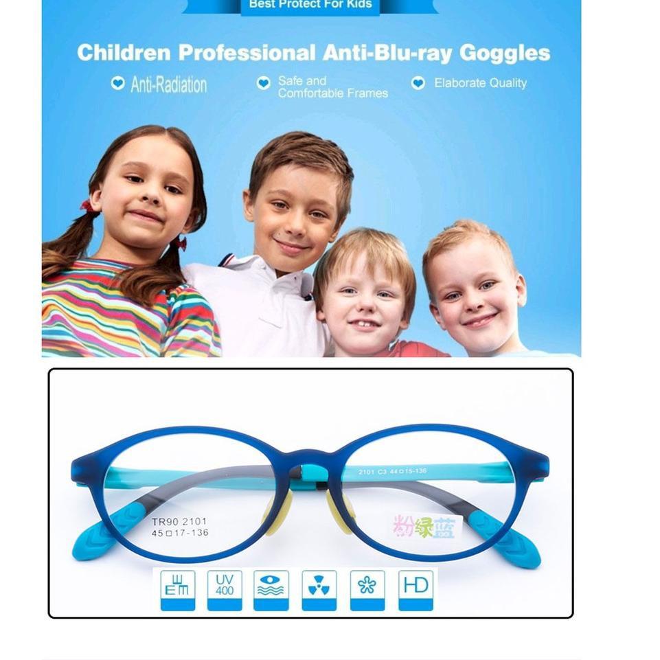 Stok Terbatas Frame Kacamata Anak Anak Laki Laki Perempuan Wanita Model Terbaru Minus Plus Anti R