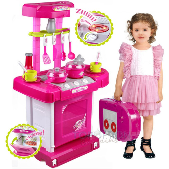 MAINAN ANAK KITCHEN SET KOPER