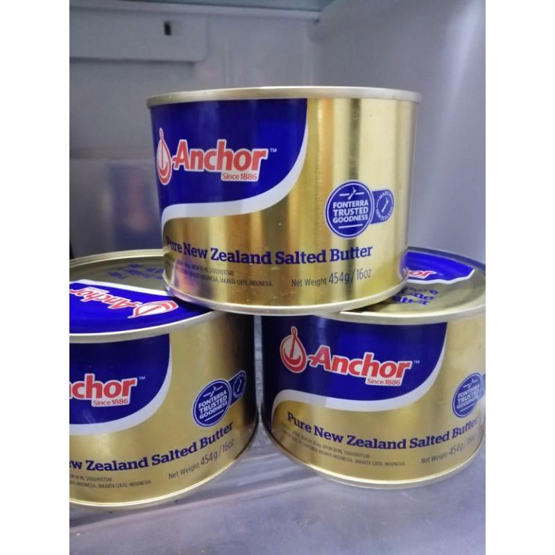 Anchor butter tinned butter butter anchor 454g
