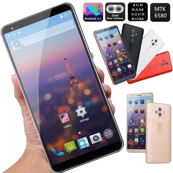 Mate10 Smartphone Android 5 1 4GB + 32GB MTK6580 Dual SIM GSM / 3G WCDMA