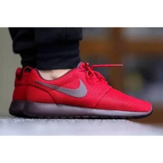 Sepatu Nike Roshe Run Maroon Black cd0463f7c3
