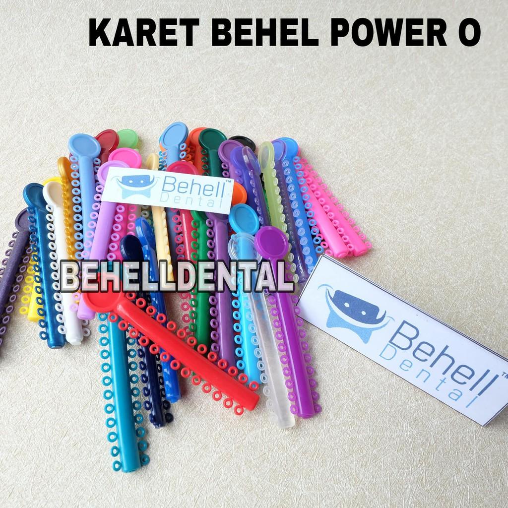 Karet Behel Motif Power O Murah Isi 40pc Shopee Indonesia Kawat Niti Permanen 10pc