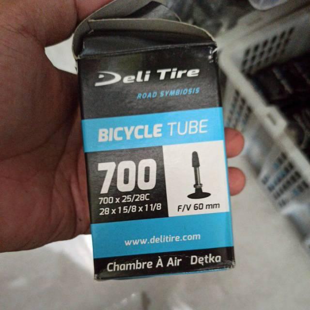 ban dalam sepeda balap road bike fixie 700 60 mm presta