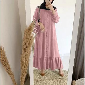 Arimbi Model Baju Gamis Brokat Modern Terbaru 2020 Jumbo Ld 100 Full Memutar Shopee Indonesia