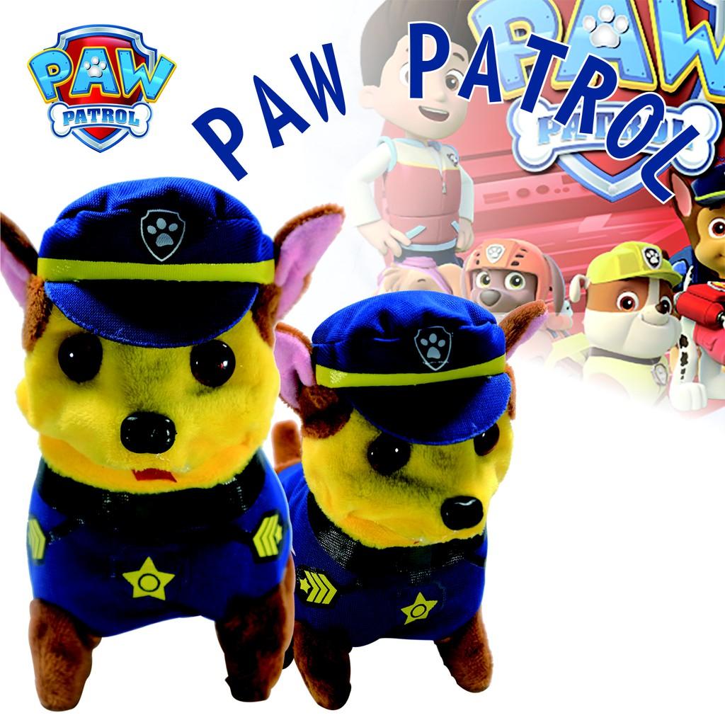 boneka paw patrol  nickelodeon toys  boneka lucu