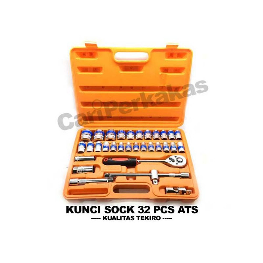 Tekiro Kunci Sok Sock Socket Set 21 Pcs 1 4 3 8 6pt Review Harga