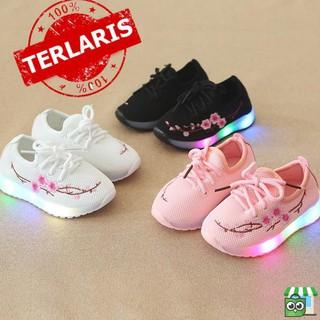 SPESIAL sepatu anak lampu led nyala bayi balita