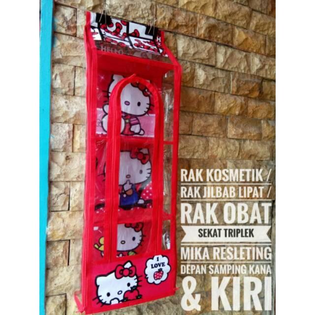 Rak Obat P3K RMOZ 3+1 rak multifungsi Hanging Kosmetik Organizer Karakter zipper sleting resleting | Shopee Indonesia