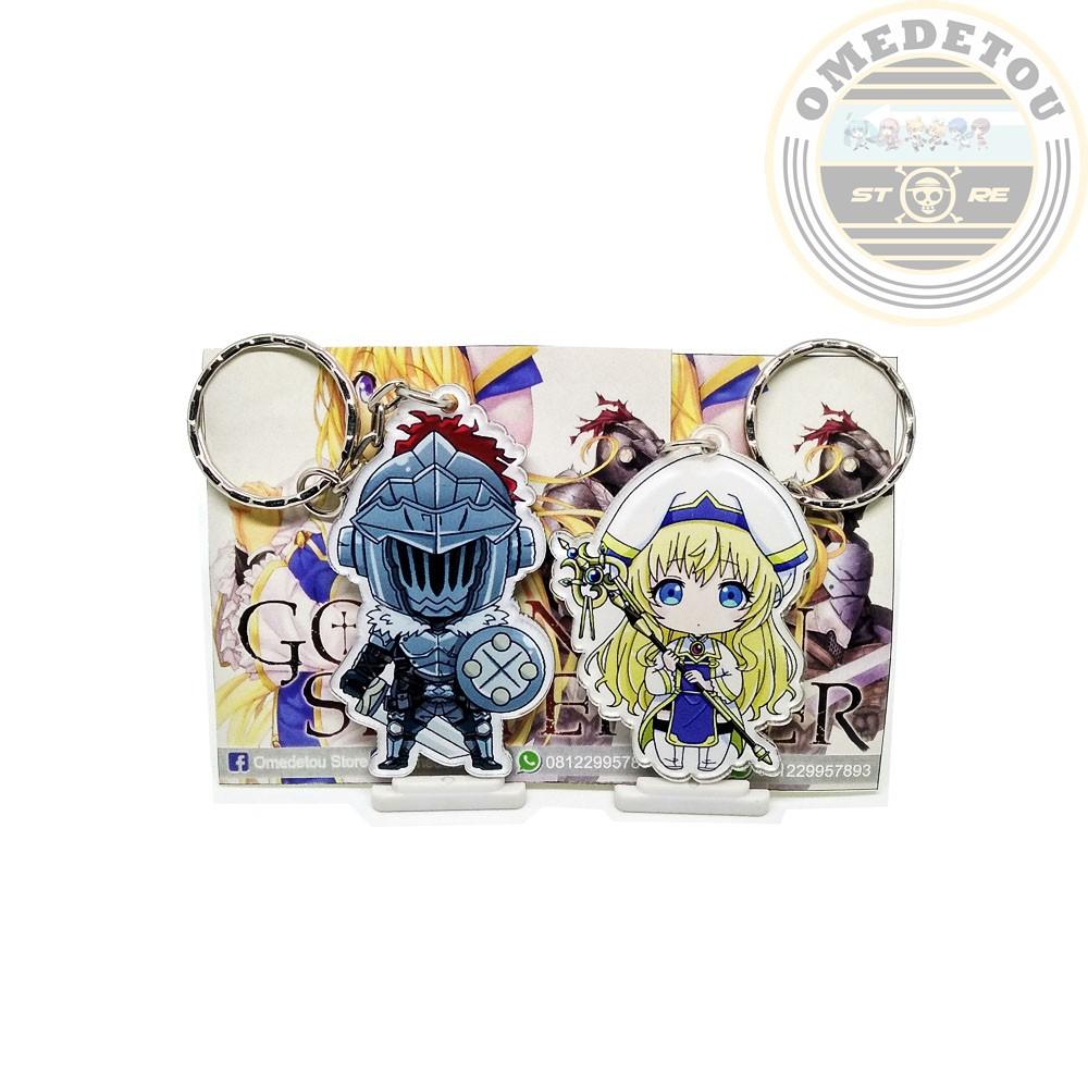 Gantungan Kunci Anime Goblin Slayer X Na Shinkan Couple
