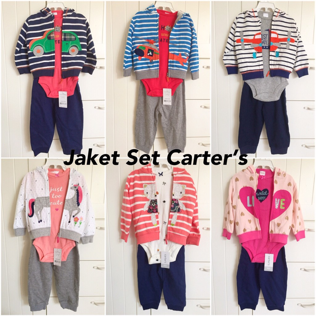 8412057cb Jaket Carter s Baby BOY Clothing Outfit Casual Jacket Outerwear Baby ...