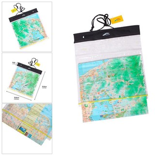Waterproof Outdoor Camping Hiking Clear Map Cover Storage Case Dry Bag