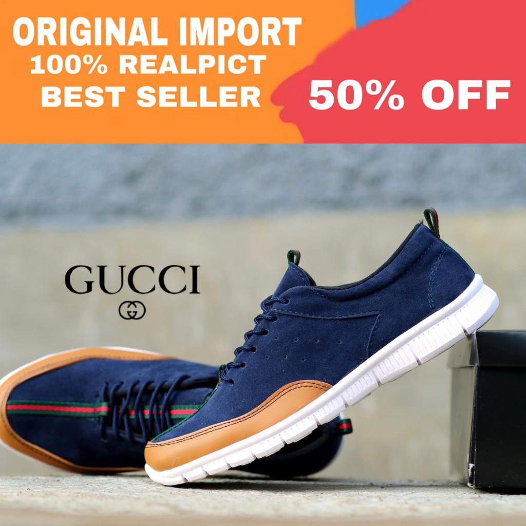 sepatu gucci - Temukan Harga dan Penawaran Sneakers Online Terbaik - Sepatu  Pria Maret 2019  a711e65b3c