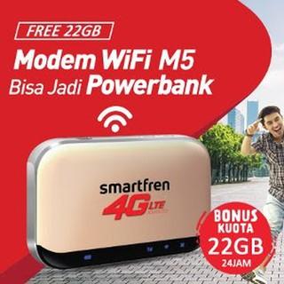 Wifi Router 4G Powerbank Smartfren Andromax BONUS KUOTA Suka 0