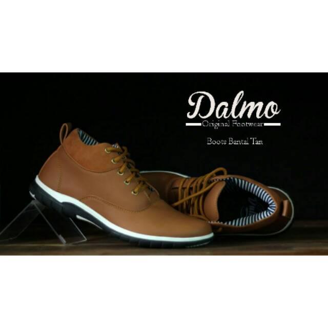 Sepatu Kulit Asli Semi Boots Formal Cevany Max Pantofel Pria Murah Brodo  Casual Sneakers Kickers  c3da9b3351