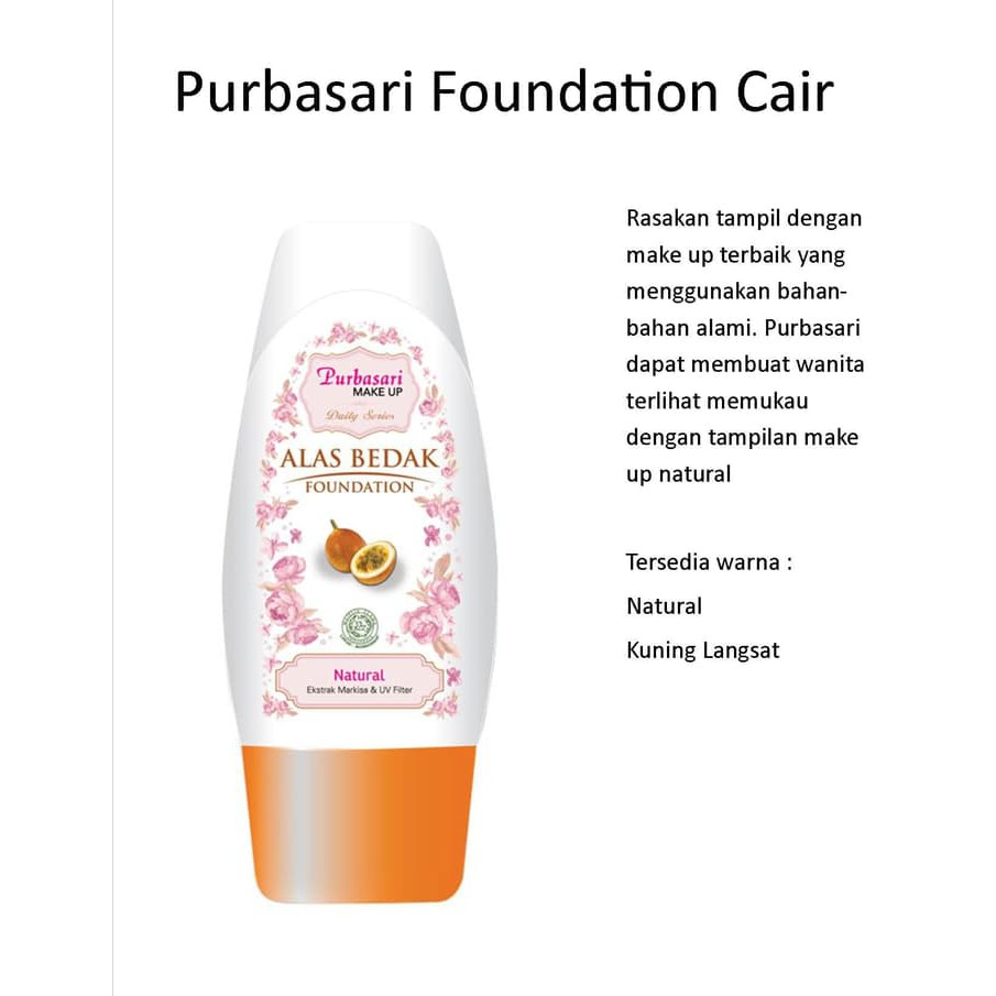Inez Satin Smooth Liquid Foundation 01 Natural Alas Bedak Make Up Produk Tren Kecantikan Shopee Indonesia