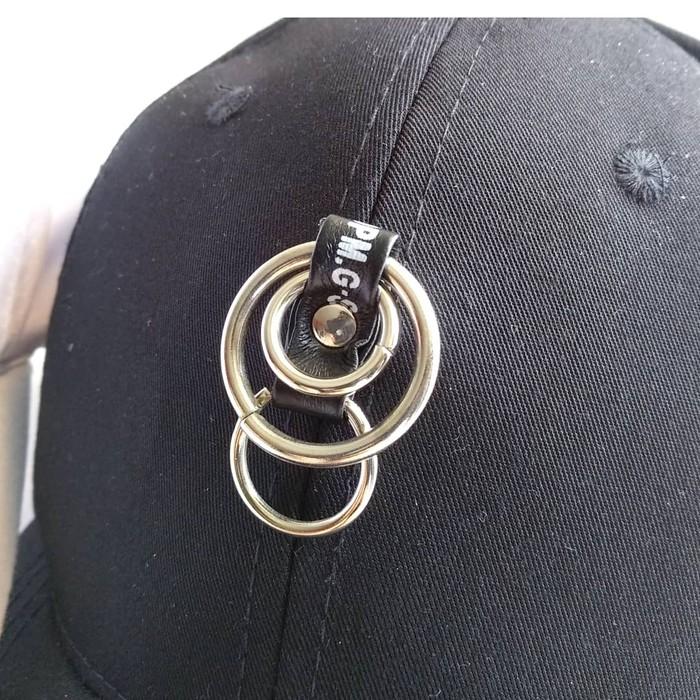 murah Topi baseball FASHION RING tengah import korea kpop wanita pria 269ab16f25
