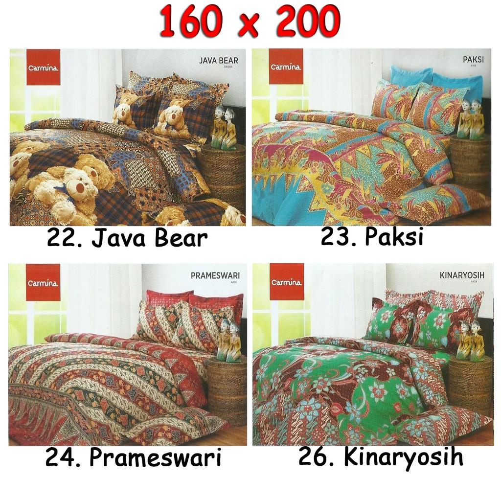Seprai 100 Catton Homade Shopee Indonesia Ikea Knoppa Berkaret Putih Ukuran 90x200 Cm