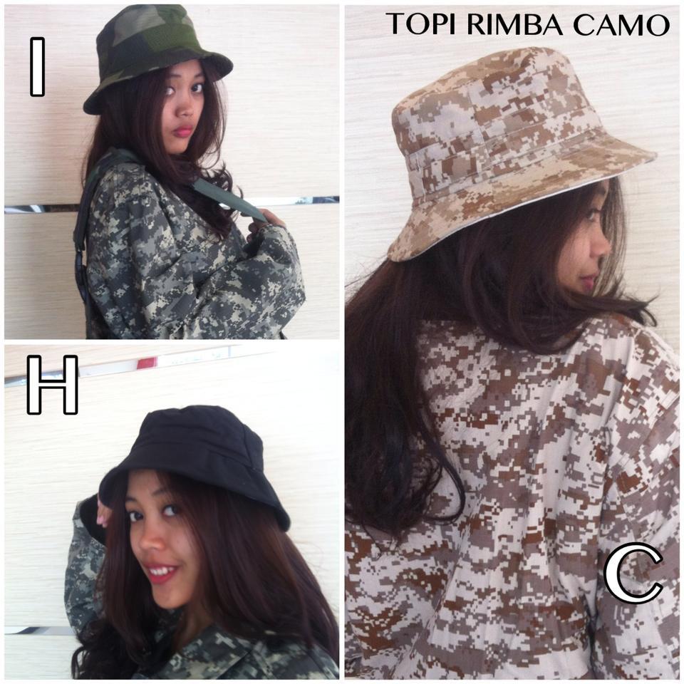 Topi Pria  TOPI ARMY camo 000ef87bf3